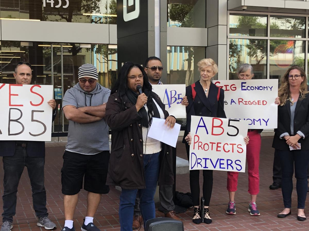 Standing with Gig Workers in the Fight Against Uber and Lyft