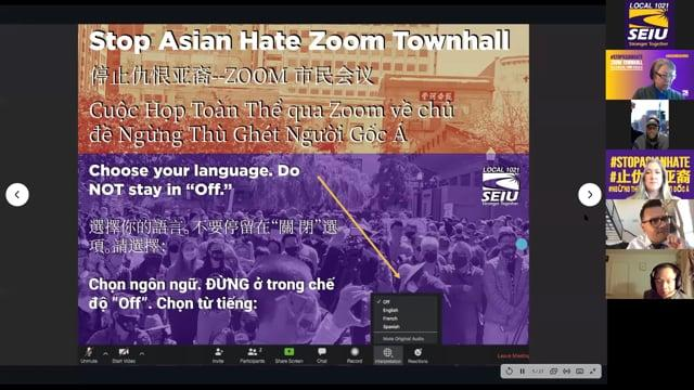 Missed our #StopAsianHate Townhall on March 30? Watch the recording now.