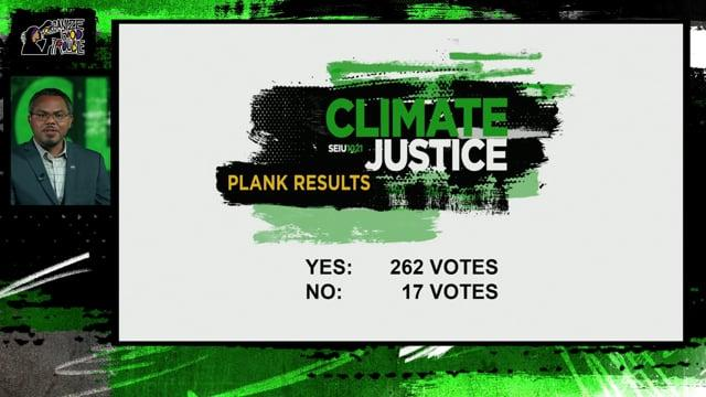 SEIU 1021 Pledges to Work for Environmental Justice and Climate Action