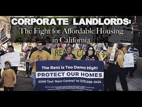 In California, the Rent is Too Damn High