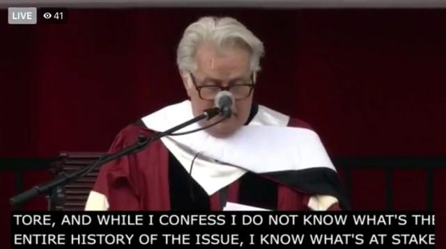Martin Sheen, 1,200 Graduating Seniors, and Guests Support Santa Clara Univ. Adjuncts and Lecturers' Efforts to Unionize