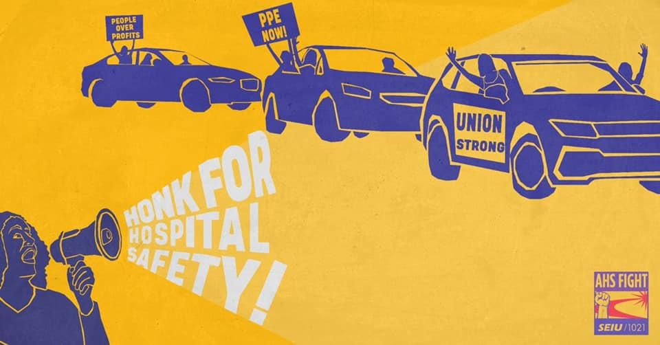 Honk for Safety Rally and Car Caravan: Thursday, June 11 4 p.m. Meet at 100 Oak St. Caravan to Highland Hospital